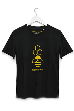 T-SHIRT #SAVE THE BEES - Unisex - Nero