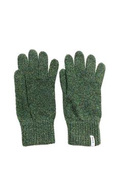 Guanti – lana rigenerata: Verde