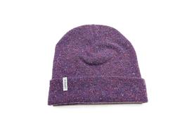 Cappello – lana rigenerata: Melanzana