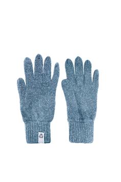 Guanti – lana rigenerata: Azzurro chiaro