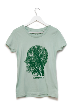"""T-SHIRT """"SUSTAINABLE"""" - Woman"""