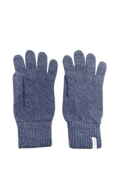 Guanti – lana rigenerata: Azzurro