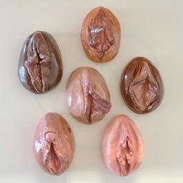 "Vulvamodelle im Set ""Sexologie & Beratung"" (Kunststoffmodelliermasse)"