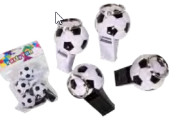 Fussball-Trillerpfeife