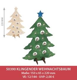 Klingender Weihnachtsbaum, 12 Stk.