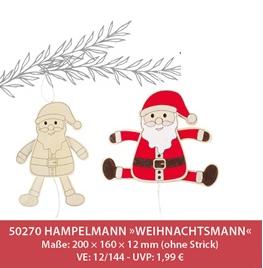 "Hampelmann ""Nikolo"", 12 Stk."