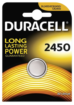 DURACELL pile bouton 2450
