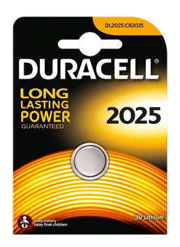 DURACELL pile bouton 2025