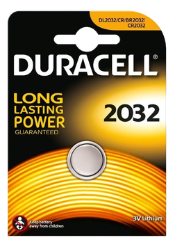 DURACELL piles bouton 2032
