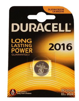 DURACELL pile bouton 2016