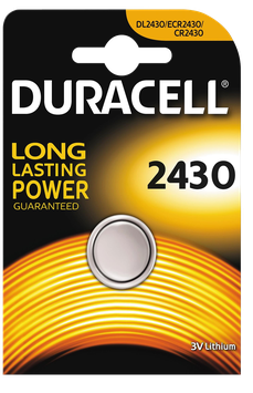 DURACELL pile bouton 2430