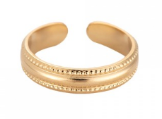 Edelstahl Ring Diana Gold