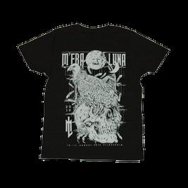 2019 M'era Luna T-Shirt Vulture Skull