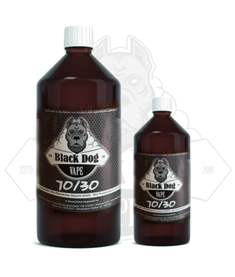 Black Dog Vape - Base 50/50 70/30 HighVG