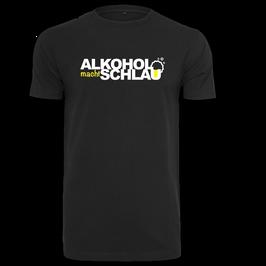 ALKOHOL MACHT SCHLAU T-Shirt (neues Design)