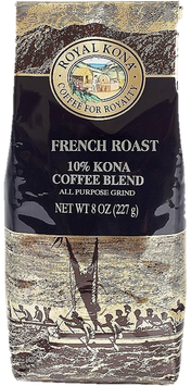French Roast 10%Kona 8oz