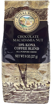 Chocolate Macadamia 10%Kona 8oz