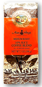 10%Ka'u   RoyalHawaiian  MediumRoast  7oz(198g)