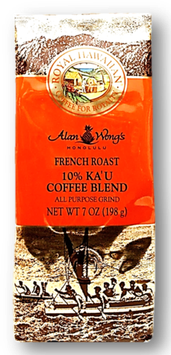 10%Ka'u   RoyalHawaiian  FrenchRoast  7oz(198g)