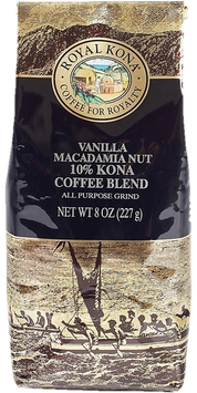 Vanilla Macadamia 10%Kona 8oz