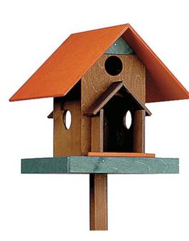 Vogel Futterhaus Fachwerk