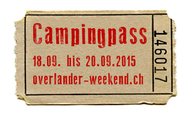 Camping |  1 Übernachtung pro Person