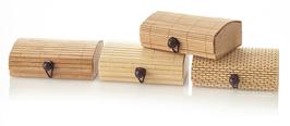 Bambus-Seifenbox flach 10,5 x 7 x 3,7 cm