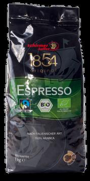 Schirmer Kaffee Bio Fairtrade Espresso