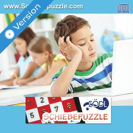 Schiebe-Puzzle, Computerspiel zum Puzzlen