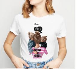 Tshirt mamma e due bimbi/e