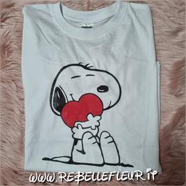 Tshirt Snoopy con cuore