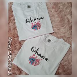 Tshirt Coppia stitch Ohana