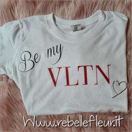 Tshirt Be my Valentine