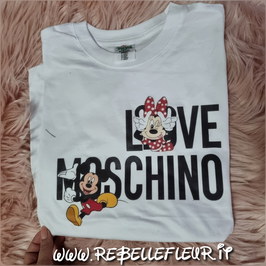 Tshirt Minnie & topolino