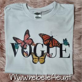 Tshirt Farfalle Vogue
