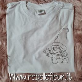 Tshirt  Memole bianca