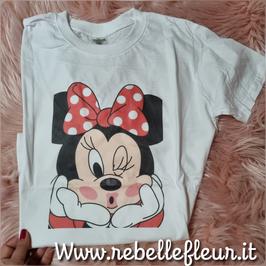Tshirt Minnie Kiss