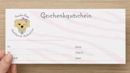 Fräulein Berta Geschenkgutschein