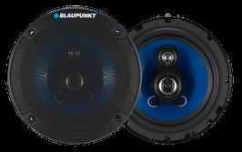 Blaupunkt - 3 Wege Lautsprecher, rund, Außendurchmesser: 165 mm. Art.Nr.: 20063