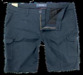Cargo-Short, dunkelblau uni