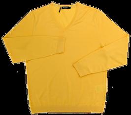 Strickpullover, gelb