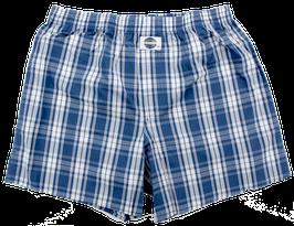 Boxershort, blau kariert