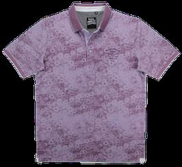 Polo, lavendel gemustert
