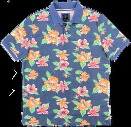 Polo, mehrfarbig mit Blumenmuster