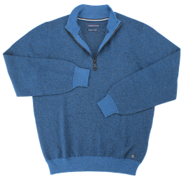 Sweat-Troyer, blau gestreift
