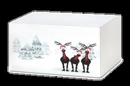 Geschenkbox, weiß