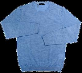 Strickpullover, hellblau