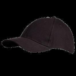 Basecap, schwarz