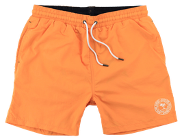 Badeshort, orange