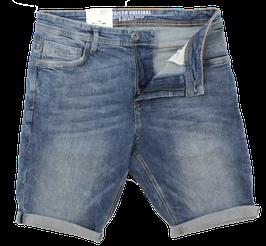 Jeans-Short, verwaschen blau